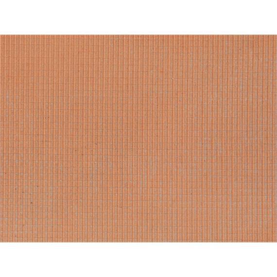 Noch 60355 Strukturfolie Dachstein rot