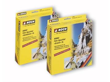 """NOCH 60892 Felsspachtel XL """"Sandstein"""", braun, 1000 g"""