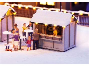 Noch 65610 Weihnachtsmarkt Kombi-Set HO