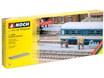 NOCH 66008 Universal-Bahnsteig, Laser-Cut, H0