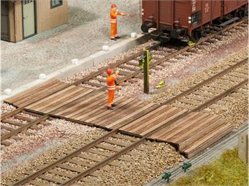 Noch 67104 Laser-Cut Gleisübergang, Spur 0