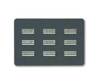 """NOCH Zaun """"Sauerland"""" Laser-Cut, 13,2 cm lang, 0,7 cm hoch Spur N"""