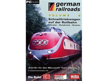 PC CD-ROM - Schnelltriebwagen auf der Rollbahn