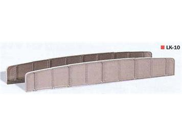 Peco LK-10 Brückengeländer Platten