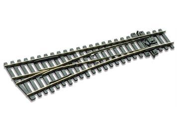 Peco SL-E192 Weiche links 12° kurz R610mm Cd 75, H0 (1:87)