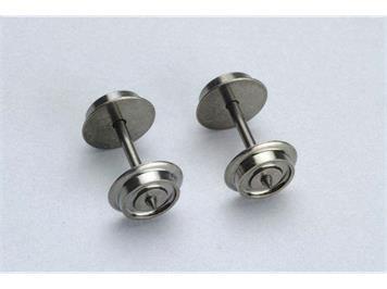PIKO 56061 AC-Radsatz 10,3 mm, 2 Stkück, H0 (1:87)