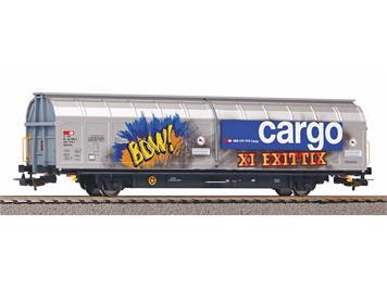 PIKO 58985 SBB Schiebewandwagen Hbbillns mit Graffit, Ep. VI, H0