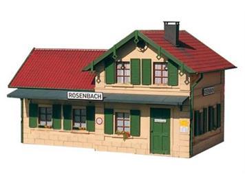 PIKO 62040 Bahnhof Rosenbach. Spur G IIm (1:22,5)