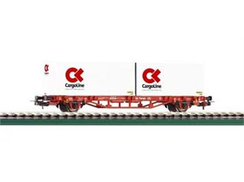 Piko Containerwagen 2 x 20 DBV