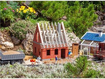 POLA 331083 Einfamilienhaus im Rohbau, Bausatz, Spur G IIm (1:22,5)