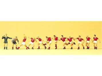 Preiser 10075 Fussballmannschaft HO