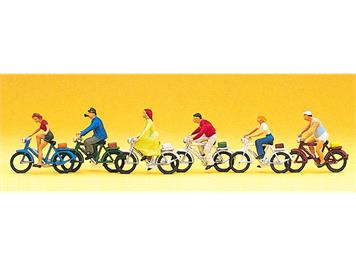 Preiser 10091 Radfahrer HO