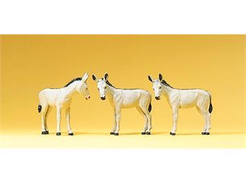 Preiser 10151 Figuren Esel, H0 1:87