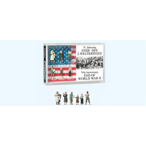 Preiser 13404 75. Jahrestag Ende des 2. Weltkrieges, H0
