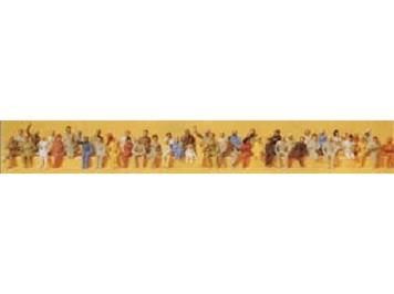 Preiser 14400 Sitzende Reisende (48 Figuren)
