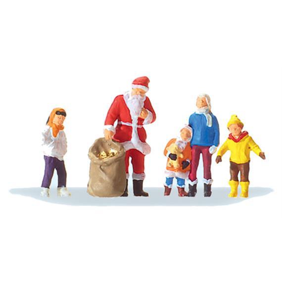 Preiser 29098 Weihnachtsmann mit Kindern