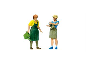 Preiser 44928 Gartenpflege