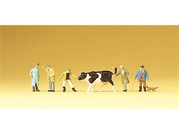 Preiser 79080 Viehhandel N