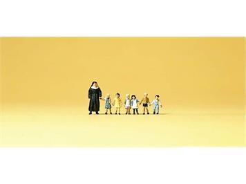 Preiser 79127 Nonne, Kinder