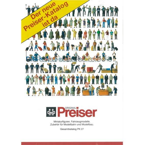 Preiser Hauptkatalog Figuren deutsch
