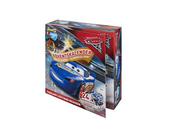 "Revell 01012 Advenskalender ""Fabulous Lightning McQueen"" Junior Kit"