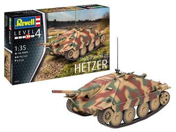 Revell 03272 Jagdpanzer 38 (t) HETZER, Massstab 1:35
