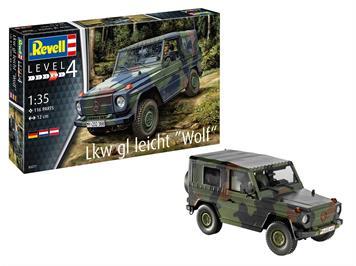 Revell 03277 Lkw gl leicht Wolf, Massstab 1:35