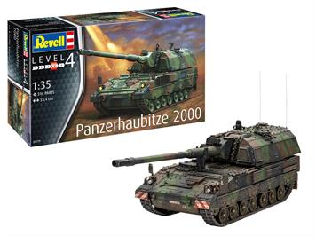 Revell 03279 Panzerhaubitze 2000, Massstab 1:35