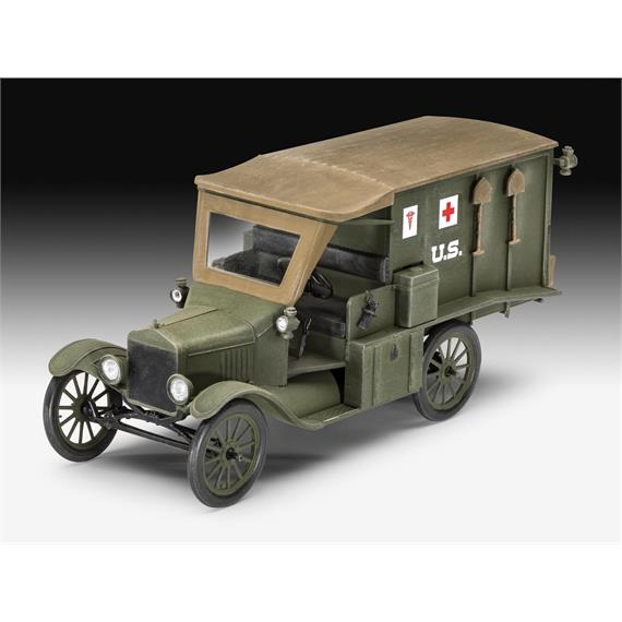 Revell 03285 Model T 1917 Ambulance, 1:35