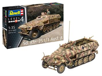 Revell 03295 Sd.Kfz. 251/1 Ausf.A, Massstab 1:35