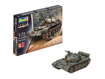 Revell 03304 T-55A Panzer UDSSR, Massstab 1:72