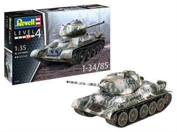 Revell 03319 T34-85, 1:35