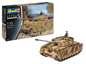 Revell 03333 Panzer IV, Ausfürung H, Massstab 1:35