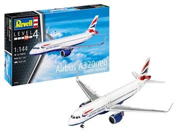 Revell 03840 Airbus A320 neo British Airways, Maßstab 1:144