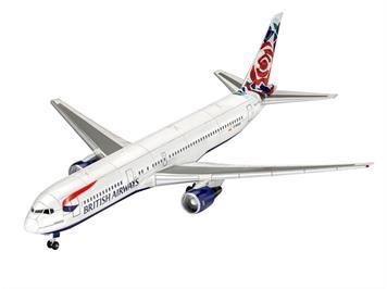 Revell 03862 Boeing 767-300ER British Airways Chelsea Rose, Massstab 1:144