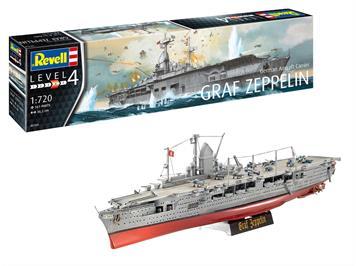 Revell 05164 German Aircraft Carrier GRAF ZEPPELIN, 1:720