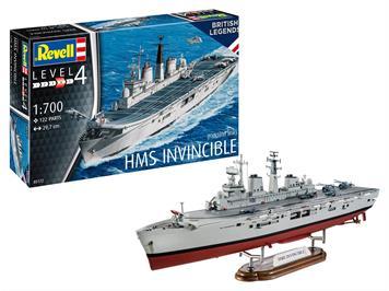 Revell 05172 HMS Invincible (Falkland War), 1:700