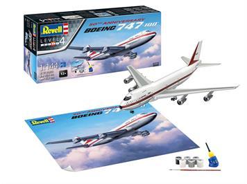 Revell 05686 Gift Set Boeing 747-100, 50th Anniversary, 1:144