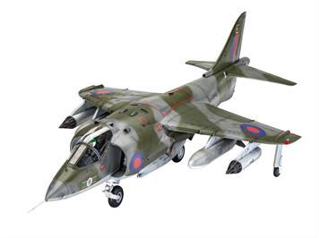 Revell 05690 Gift Set Hawker Harrier GR Mk., Massstab 1:32