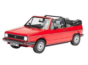 Revell 07071 VW Golf 1 Cabrio 1:24