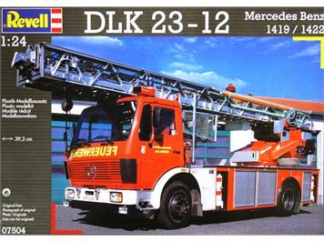 Revell 07504 Mercedes-Benz Drehleiter DLK 23-12 1419F/1422F 1:24 lim. Edition