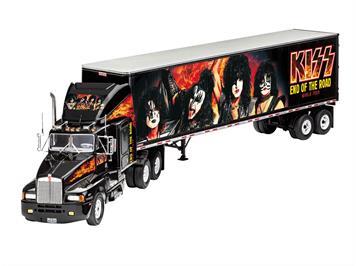 Revell 07644 Gift Set KISS Tour Truck, 1:32