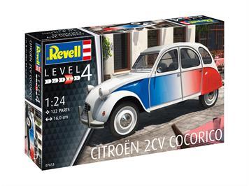 Revell 07653 Citroen 2 CV Cocorico