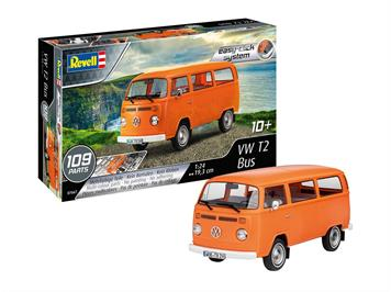 Revell 07667 VW T2 Bus, Maßstab: 1:24