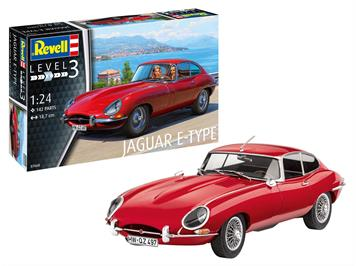 Revell 07668 Jaguar e-Type (Coupé), 1:24