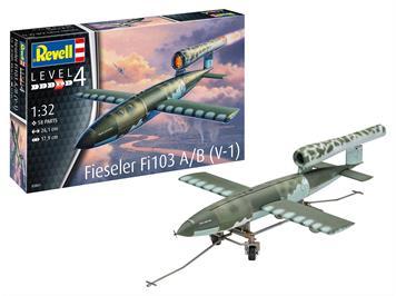 Revell 63861 Model Set Fieseler Fi103 V-1, Maßstab 1:32
