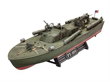 Revell 65147 Model Set Patrol Torpedo Boat PT-109, 1:72