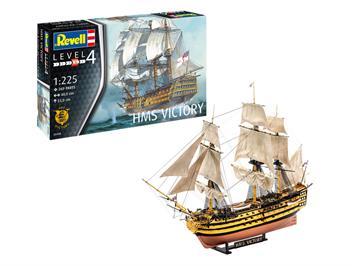 Revell 65408 Model Set HMS Victory, Bausatz, Maßstab: 1:225