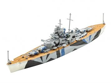 Revell 65822 Model Set Tirpitz 1:1200