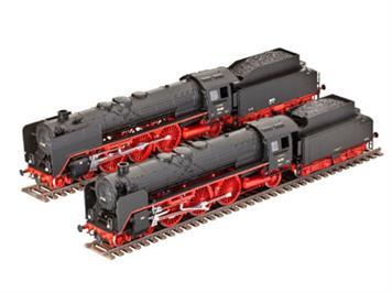 Revell Schnellzuglokomotiven BR 01 & BR 02 1:87